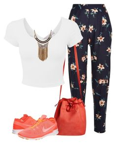 """""""Untitled #867"""" by yourchic ❤ liked on Polyvore featuring Mint & Rose and NIKE"""