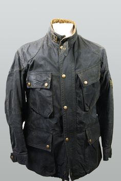 e18ddb94bf8 Vintage Belstaff Trialmaster jacket