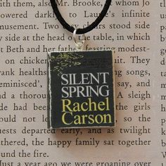 Silent Spring Book Charm on Etsy