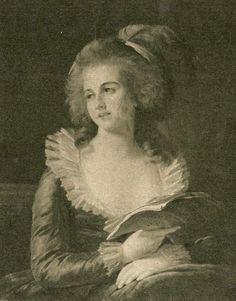 duchess de polignac, oil on canvas by louise elisabeth vigée lebrun (1787) found on maria-antonia.justgoo.com/
