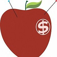 Free Dollar apple Illustration