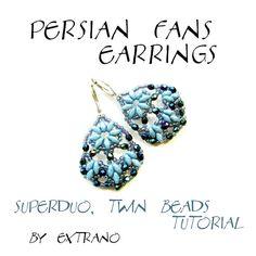 * Superduo / Twin Earrings Tutorial