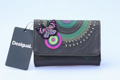 Free shipping desigual Lady pu Leather Clutch Wallet Card Pouch Purse Handbag9