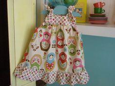 Matryoshka - Babushka - Russian Nesting dolls Knot Ties Jumper