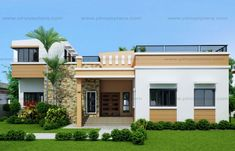 Bungalow Single Story House Plans Lovely Best One Story House with Bungalow Single Story House Plans Awesome Simple One Storey House Design Homes Floor Plans Of Bungalow Modern Bungalow House Design, Single Floor House Design, Modern Small House Design, Four Bedroom House Plans, House Plans One Story, Story House, House Deck, House Roof, One Storey House