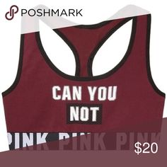 Victoria's Secret pink sports bra New. Without tags. Online purchases do not have tags. PINK Victoria's Secret Intimates & Sleepwear Bras