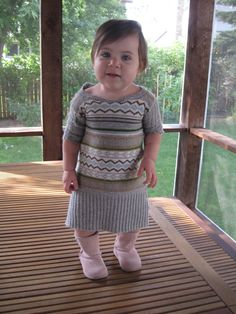 d02a6b7284 Sweater repurposed to make a baby sweater dress. Toddler Sweater