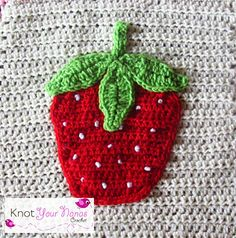 This is one of 12 appliques needed to complete Knot Your Nana's Crochet's Little Blossom's Blanket.