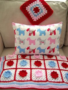 Cath Kidston Granny Blanket on Ravelry - colour inspiration, to go with my cath kidston cups?