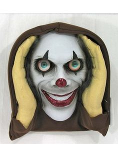 Scary Peeper Halloween Decoration Peeping Tom, Indoor And Outdoor Window Hanging Mask For Spooky House Party Scares, Tricks, And Laughs, Novelty Decor – The Best DIY Outdoor Christmas Decor Childrens Halloween Party, Halloween Party Supplies, Halloween Party Decor, Halloween House, Scary Halloween, Halloween Ideas, Arrow Baby Shower, Spooky House, Scary Clowns