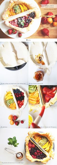Fruit Tarts by Le Zoe Musings