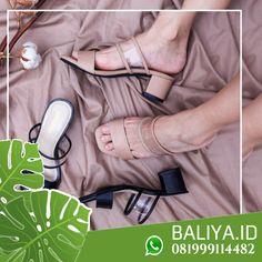 Jual Sandal Wedges Sandal Wedges, Wedge Sandals, Bali, Heels, Leather, Instagram, Heel, Wedge Flip Flops, Wedge Sandal