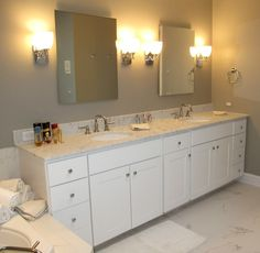 Renovated and updated guest bath
