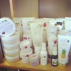 100 Percent Pure makeup. Organic, made from only fruits, vegetables, teas, coffees, herbs, and chocolate!
