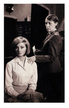 "Daniela Bianchi as Tatiana Romanova, Lotte Lenya as Rosa Klebb in ""From Russia with Love"" (1963). From Canada (09.2013)"
