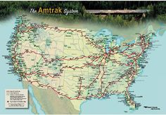 So so excited for our next Amtrak adventure. Taking the Empire Builder out to northern Idaho in March!