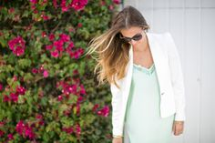 OOTD: Easter Sunday!  Dress by @Forever 21 and blazer by @· ZARA ·. #HelloGorgeous  #SpringStyle