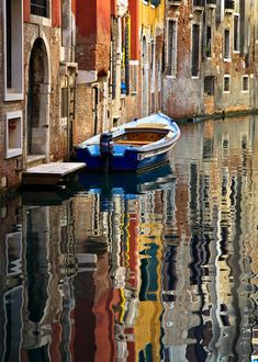 Venice - San Moise Canal by Michael Rainwater