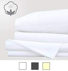 400 Thread Count - Peru Pima 100% Peruvian Pima Cotton - full, Ivory