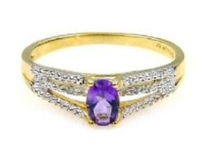 10K .60ct Diamond Amethyst Ring. Get the lowest price on 10K .60ct Diamond Amethyst Ring and other fabulous designer clothing and accessories! Shop Tradesy now