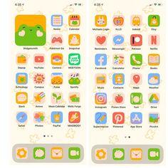 Cute animals app icon set ios 14 android in 2021 app