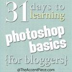 31 Days to Learning Photoshop Basics - Day 1 (Introduction)