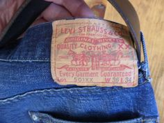 Thank goodness for hard labour and why LVC 501xx are the best Jeans For Men