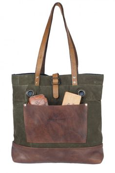 handcrafted tote bag by Atelier de L'Armee
