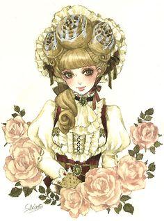 """""""Cinnamon Bun"""" by manga artist Sakizou."""