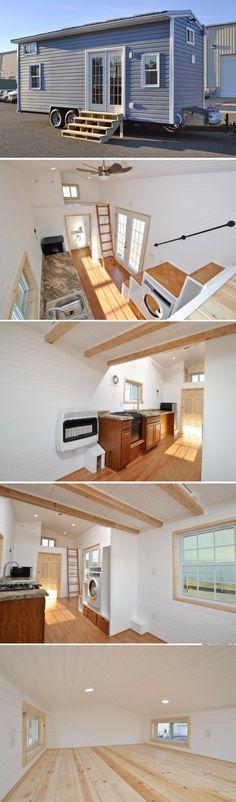 A custom solar-powered tiny home
