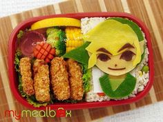 21 Delicious Video Game Bento Boxes
