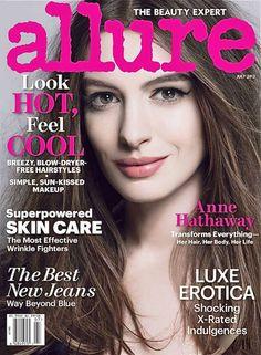 Allure Magazine, Anne Hathaway