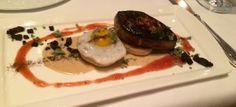 Restaurant R'evolution: Foie gras biscuit & gravy