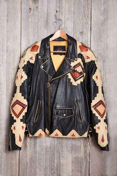 Vintage Southwest Leather Jacket