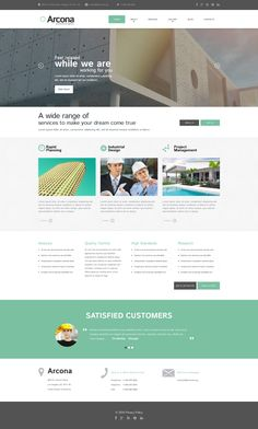Construction Company - WordPress Template
