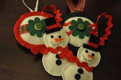 DIY felt Decorations | DIY felt ornaments. | DIY