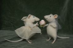 Stuffed Animals by Natasha Fadeeva - mouse lovers