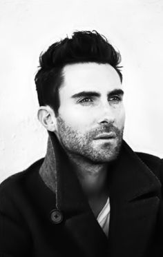 Adam Levine. hottie. Love his hair!!!