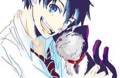 Rin and Kuro. X3 can't stop pinning. Kuro is too cute