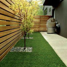Hinterhof Gartengestaltung Baum