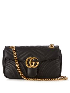 390be6cba1c9 Click here to buy Gucci GG Marmont quilted-leather cross-body bag at  MATCHESFASHION