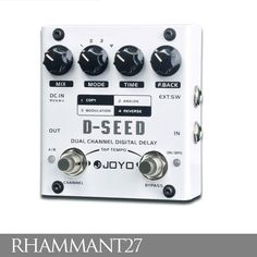 JOYO D-SEED digital delay pedal – this is a humdinger! About $AU70 on average and worth twice that!