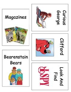 Included in this product is high quality book bin labels for your classroom library!  There are 30 labels in all sized at 3