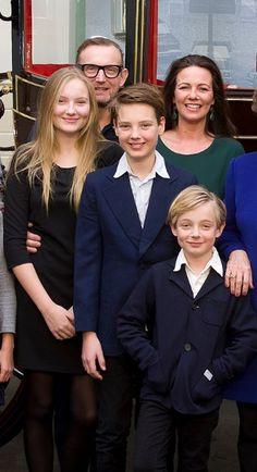 Nieuwe gezinsfoto's Pieter en Margriet!