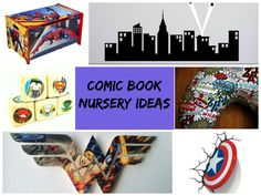 All budding crime fighters need a place to call their own. Click through for 18 comic book-themed nursery ideas fit for your little superhero!
