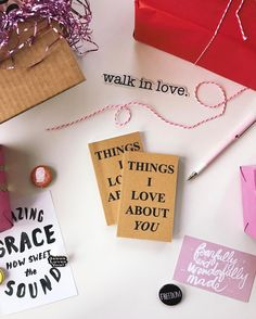 The list is endless.  #walkinlove #thingsiloveaboutyoujournal