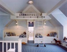 imaginez le plaisir que les enfants pourraient avoir dans cette chambre boy 39 s room. Black Bedroom Furniture Sets. Home Design Ideas