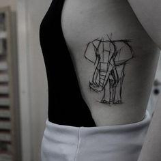 @akaberlin  Elefant tatto