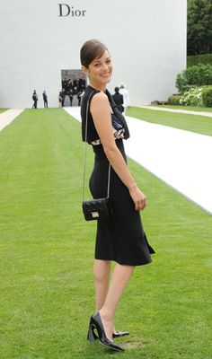 Marion Cotillard, au défilé Dior
