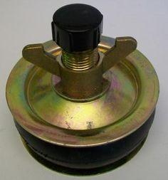 "Pressed Steel Heavy Duty Drain Plug 4"""